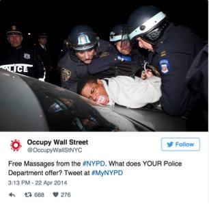 Arrest photo for biggest mistakes brands make on Twitter