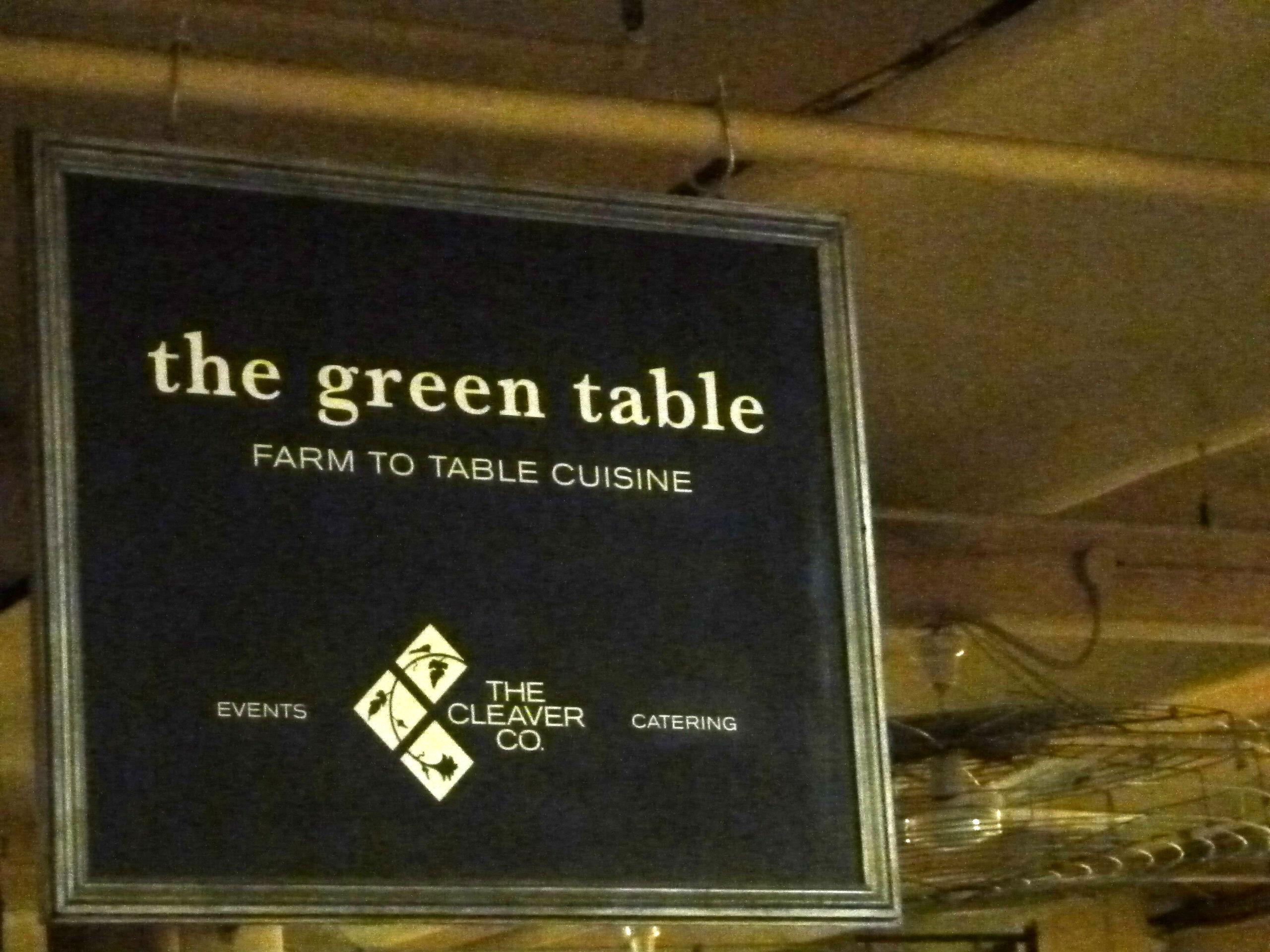 public relations events restaurant sign